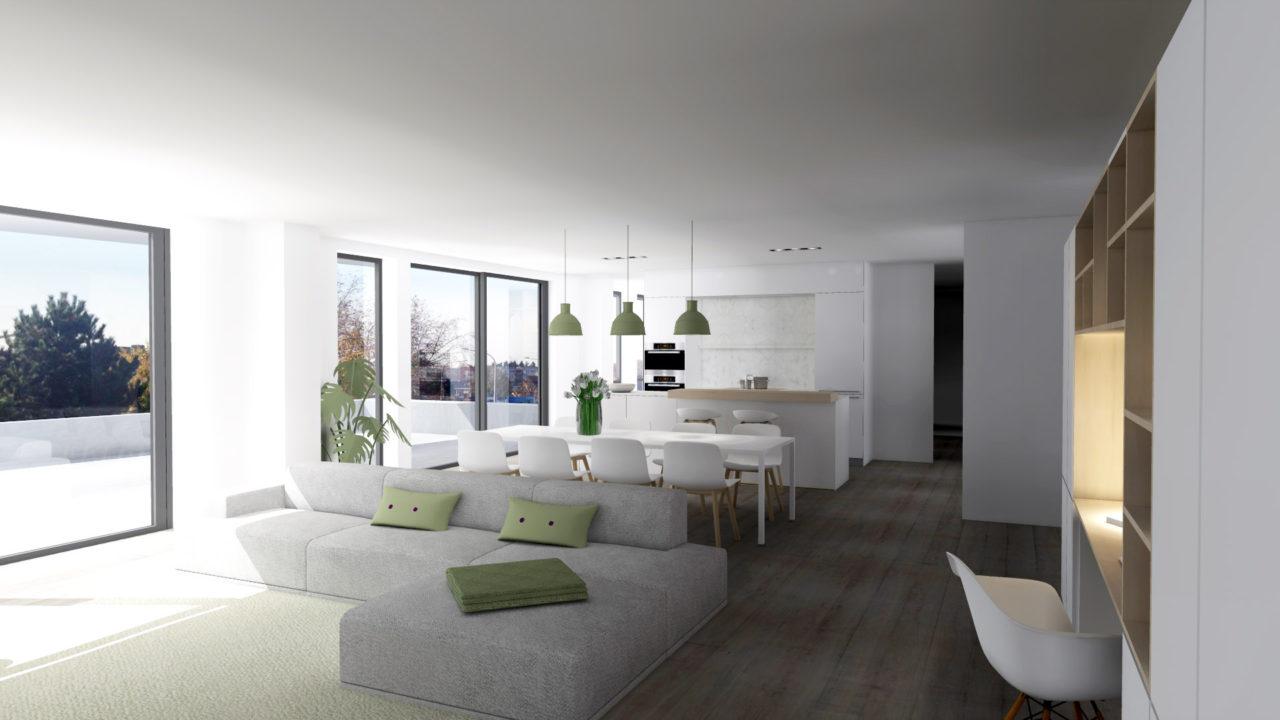 Appartement Driespoort in Deinze